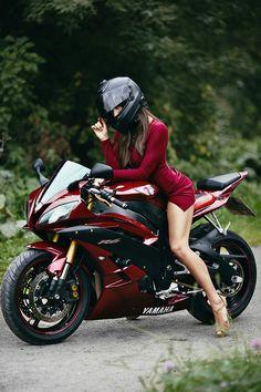 #bikergirls #bikelifenyc Harley Davidson Night Train, Harley Davidson Sportster, Lady Biker, Biker Girl, Biker Couple, Motorcycle Tank, Vespa Girl, Yamaha Motorcycles, Hot Bikes