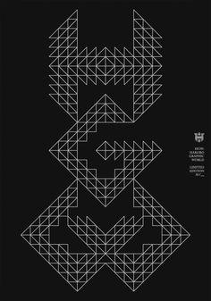 HGW-EXHIBITION / #poster #typography / Hakobo / Jakub Stepien