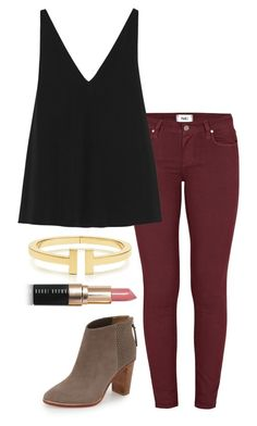 """""""ootd"""" by helenhudson1 ❤ liked on Polyvore featuring Paige Denim, STELLA McCARTNEY, Ted Baker, Bobbi Brown Cosmetics, women's clothing, women's fashion, women, female, woman and misses"""