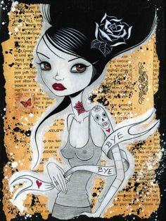 Bye Bye Print by Caia Koopman