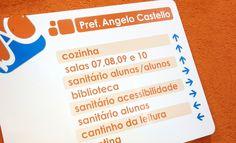 """Projeto """"Design nas Escolas"""" - Sinalização"""