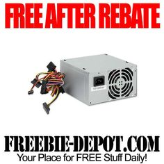 FREE AFTER REBATE - Computer Power Supply - 7/4/13 ONLY!