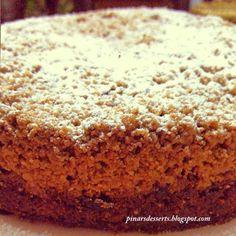 Nefis bir kek tarifiyle başlayalım. Çok çok lezzetli, çay veya kahvenin yanında sunulabilecek en güzel lezzetlerden biri, bir American klasiği New York usulü crumb kek. New York'ta yaşadığım yıllarda tanıştığım ve çok sevdiğim bir lezzeti pay...