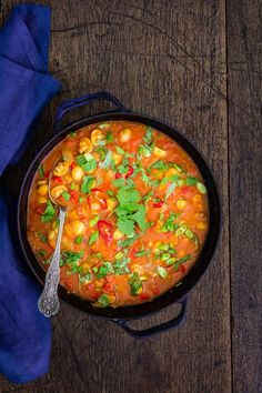 Try this vegan Tanzanian inspired mushroom curry, heaped high on some rice with a side helping of chutney.