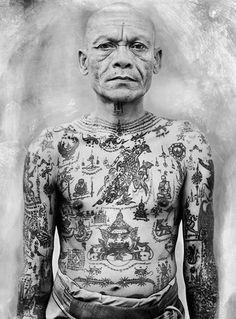 Thai Tattoo Sak Yant Nederland ||Sak Yant and Yantra Tattoo ||