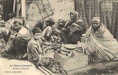 Maroc - artisans indigènes