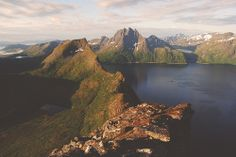 wnderlst:  #Senja, #Norway  #magical #mountains #wonderful #nature