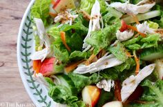 Clean Eating Winter Chicken Salad