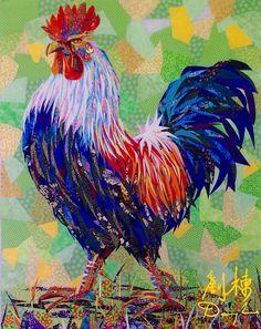 Danny Amazonas..this is amazing quilt art.