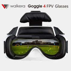 """Walkera Goggle 4 Fpv Glasses with 5""""HD Large Screen racing drone aerial 3D Glasses for FPV Drone with Camera Fast Shipping"""