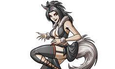 Dark Kitsune by self-replica