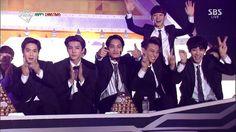 #EXO at SBS Gayo Daejun
