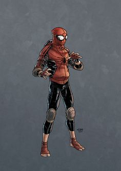 Spiderman cool redesign