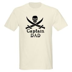 Just Sold! Captain Dad Light T-Shirt