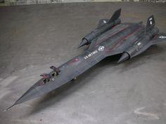1/48 SR-71 Blackbird (TESTORS)
