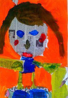 Kids Art Market: Facial Proportion with Romare Bearden