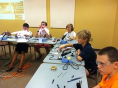 2013 Drawdio workshop, a Makerspace event