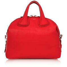 Givenchy Medium Nightingale bag in red textured-leather ($2,800) ❤ liked on Polyvore featuring bags, handbags, givenchy, purses, bolsas, red, man bag, purse bag, zipper purse and hand bags