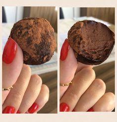 """196 curtidas, 42 comentários - Cris Contesini (@criscont28) no Instagram: """"TRUFA LOWCARB 🍫🍫🍫😋😋 Receita: 1 lata de creme de leite, 2 colheres de sopa de chocolate em pó 100%…"""""""