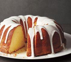 Glazed Lemon Pound Cake. Calls for full fat greek yogurt.