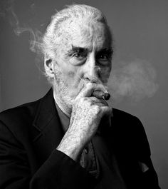Sir Christopher Lee § Actors | Andy Gotts MBE