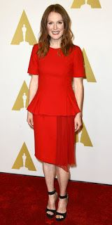Julianne Moore Photo In Red Dress
