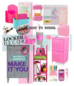"""Lockerdecor"" by ceridwen86 ❤ liked on Polyvore featuring interior, interiors, interior design, home, home decor, interior decorating, KidKraft, Converse, ban.do and Casio"