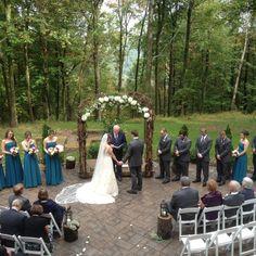 Mohican mountain like wedding venue