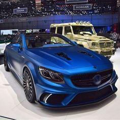 Mercedes S63 AMG Mansory Diamond Edition