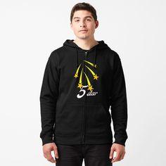 Promote | Redbubble Zip Hoodie, Yoga Tops, Yoga Wear, Shirts With Sayings, Hoodies, Sweatshirts, Adidas Jacket, Hooded Jacket, Shirt Designs