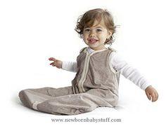 Baby Boy Clothes Baby Deedee Sleep Nest Lite Baby Sleeping Bag, Mocha Heather, Medium (6-18 Months)