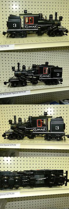 Locomotives 122576: G Scale Bachmann 86095 Spectrum 2 Truck Climax With Dcc And Sound Nob -> BUY IT NOW ONLY: $599 on eBay!