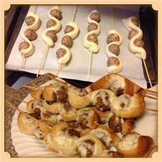 It's another keeper for the picky teen boys list!!!   Meatball Sub on a Stick Recipe/Picture Source:  https://www.facebook.com/TheBikerChicksKitchen  Facebook: http://www.facebook.com/tennie.keirn