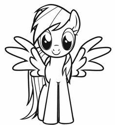 pony ausmalbilder zum ausdrucken - ausmalbilder für kinder | einhorn | pinterest | ausmalen