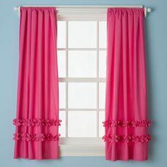 Ruffle Curtain Panels