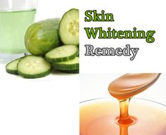 Lemon + Cucumber for Whiten Skin