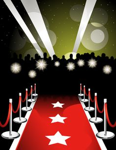 Famous On Pinterest Clip Art Hollywood And Red Carpets