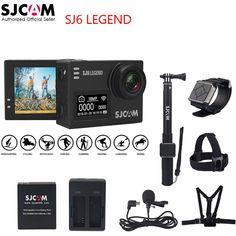 """SJCAM SJ6 LEGEND 4K 24fps 2.0"""" Touch Screen Remote Ultra HD 30M + Waterproof //Price: $175.89// #onlineshop"""