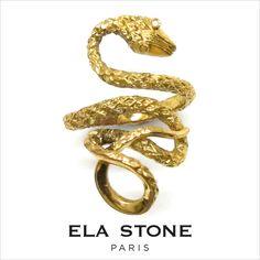 elastone(エラ・ストーン)BagueSerpentスネークリング