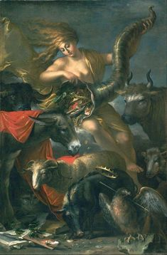 Allegory Of Fortune By Salvator Rosa - Famous Art - Handmade Oil Painting On Canvas — Canvas Paintings Fortune Favors The Bold, Fortune Favours, Google Art Project, Famous Artwork, Getty Museum, Old Paintings, Painting Videos, Painting Techniques, Illustrations