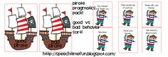 Pirate Pragmatics Pack! - Pinned by @PediaStaff. - Please Visit http://ht.ly/63sNt for all our pediatric therapy pins