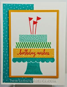 Heart's Delight Cards: Build A Birthday