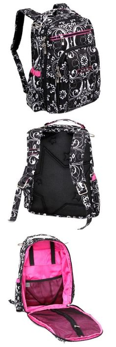 The New Ju-Ju-Be Be Right Back Diaper Bag - good diaper backpack bag or as a student backpack.