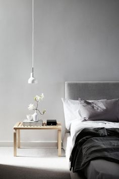 The Epitome of Tranquility: Bare-Walled Bedrooms
