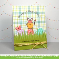 the Lawn Fawn blog: Lawn Fawn Intro: Chirpy Chirp Chirp and Tote Bag