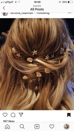 Fancy Hairstyles, Wedding Hairstyles, Hair Inspo, Hair Inspiration, Peinados Pin Up, Grunge Hair, Hair Designs, Prom Hair, Hair Jewelry
