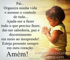 Amém Just Believe, God Prayer, God Jesus, Thank God, Quote Of The Day, Prayers, Religion, Jokes, Love You