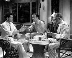 *-f* Donald Woods, Humphrey Bogart and E.E. Clive  Isle of Fury 1936 Directed by Frank McDonald