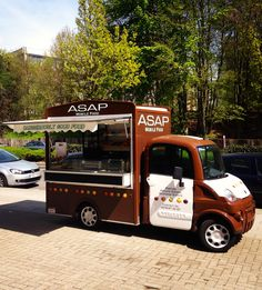 The ASAP food truck in Brussels! Every day a new place, every day home made food and moreover everyday dangerously good food!