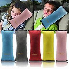 amazoncom valuetom seatbelt headrest pillow cover shoulder pad comfy support car pillow for